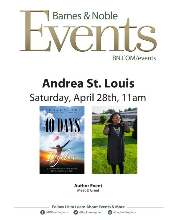 A. St. Louis, Barnes and Noble event